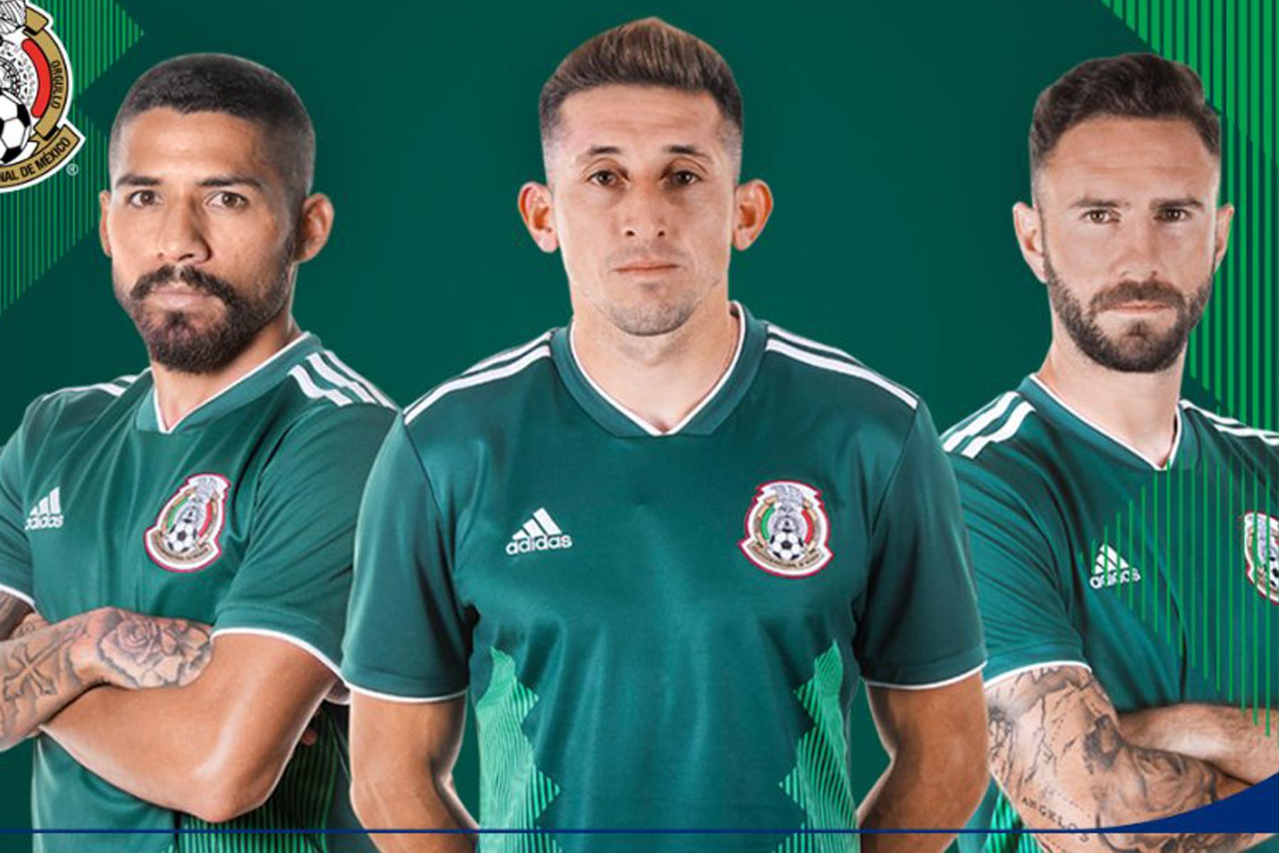 Selección de México presenta nuevo uniforme f5d5a6eea0214