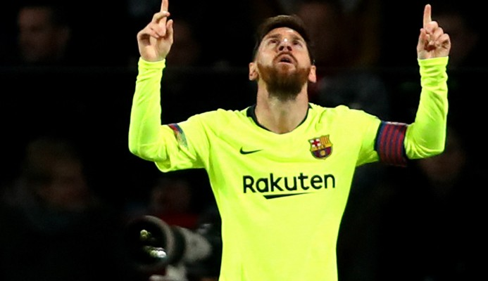 Messi supera récord de CR7 en la Champions