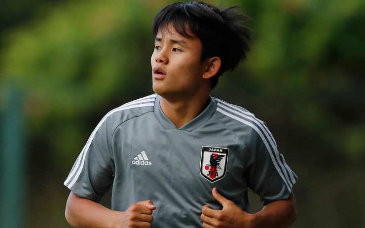 Real Madrid ficha a Takefusa Kubo